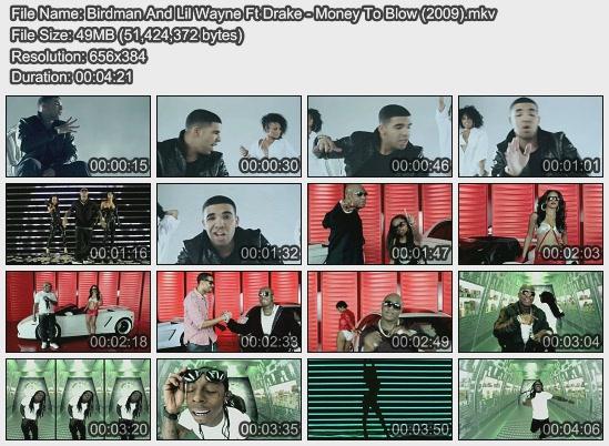 Birdman And Lil Wayne Ft Drake - Money To Blow (2009)