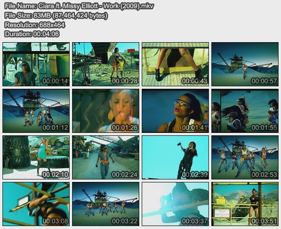 Ciara ft. Missy Elliott - Work (2009)