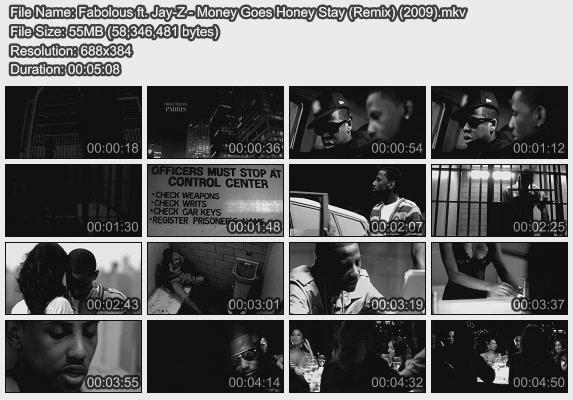 Fabolous ft. Jay-Z - Money Goes Honey Stay (Remix) (2009)