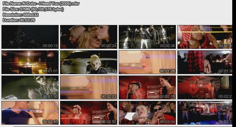 N-Dubz - I Need You (2009)