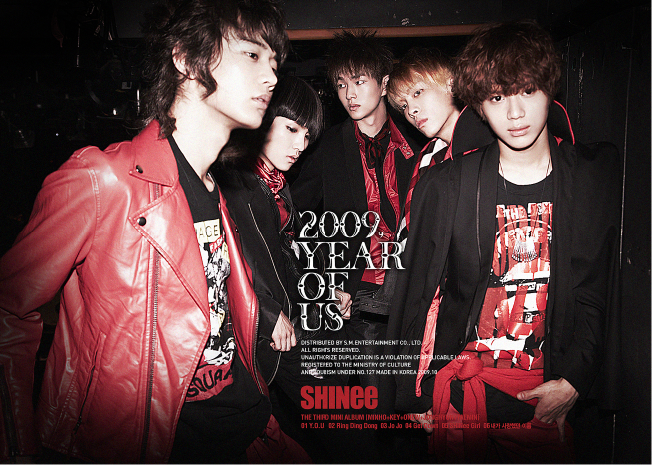 Shinee-2009,Year Of Us