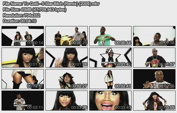 Yo Gotti - 5 Star Bitch (Remix) (2009)