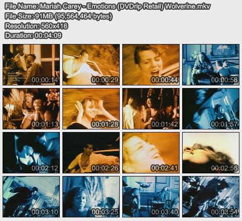 Mariah Carey - Emotions (DVDrip Retail) Wolverine