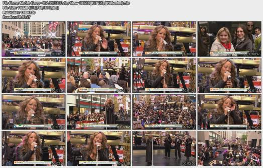 Mariah Carey - H.A.T.E.U [Today Show 100209][HD 720p][Wolverine]