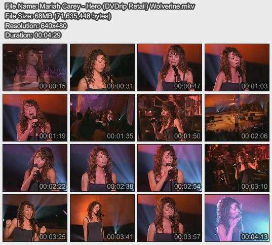 Mariah Carey - Hero (DVDrip Retail) Wolverine