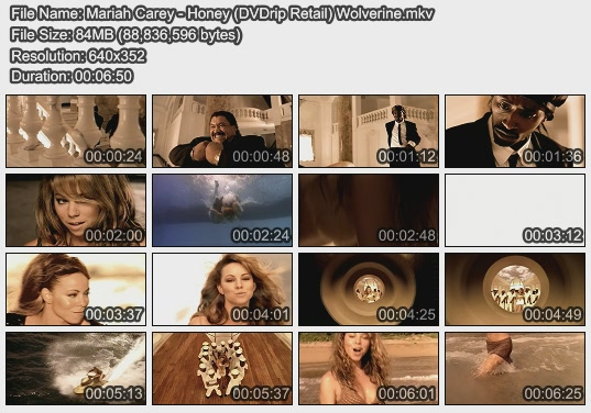 Mariah Carey - Honey (DVDrip Retail) Wolverine