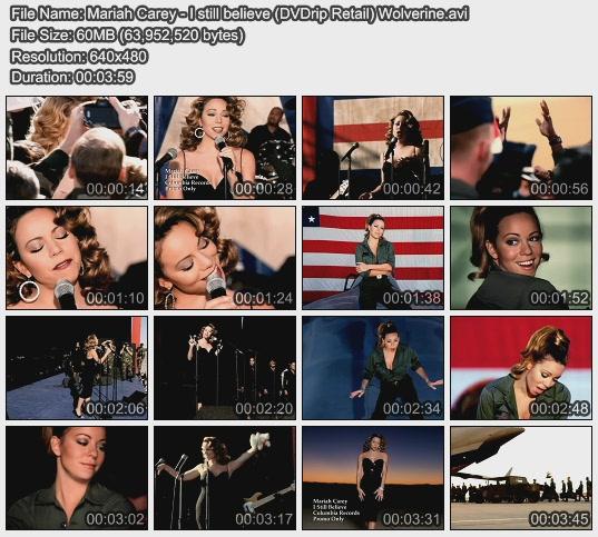Mariah Carey - I still believe (DVDrip Retail) Wolverine