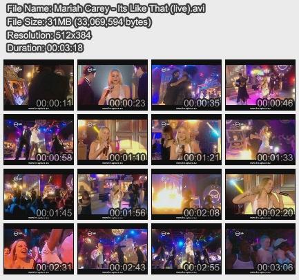 Mariah Carey - Its Like That (live)