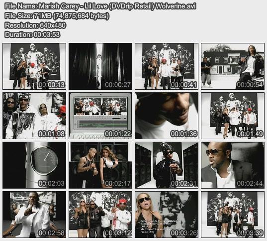 Mariah Carey - Lil Love (DVDrip Retail) Wolverine