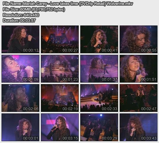 Mariah Carey - Love takes time (DVDrip Retail) Wolverine