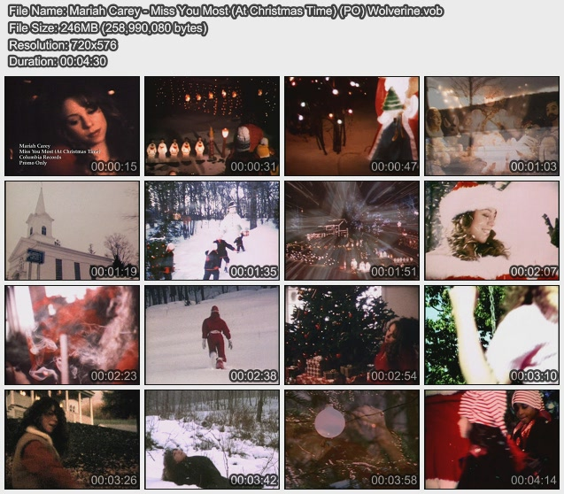 Mariah Carey - Miss You Most (At Christmas Time) (PO) Wolverine