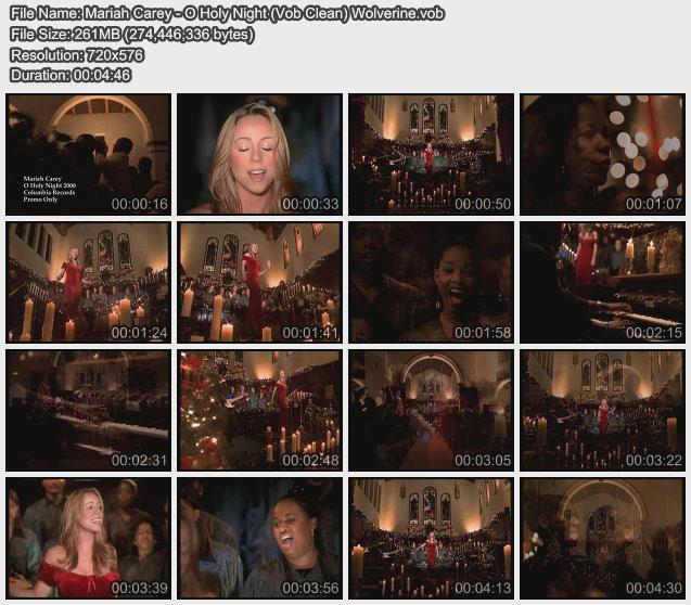 Mariah Carey - O Holy Night (Vob Clean) Wolverine