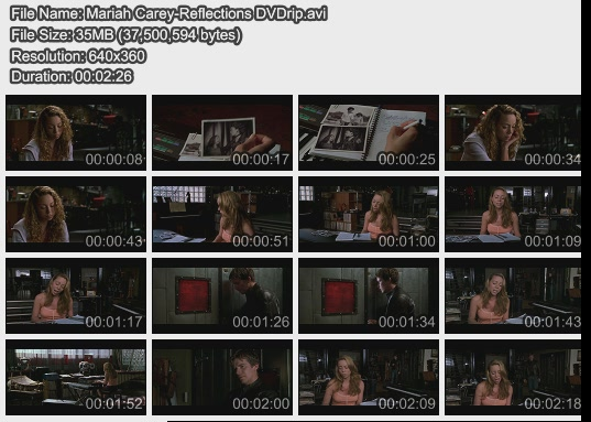 Mariah Carey-Reflections DVDrip