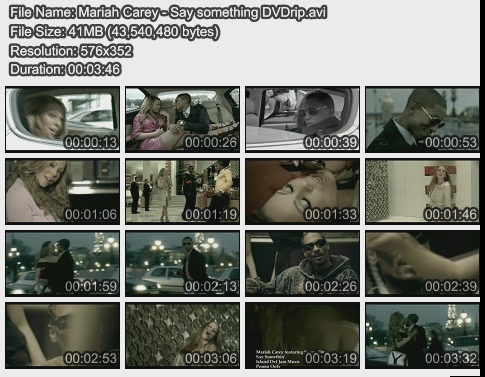 Mariah Carey - Say something DVDrip