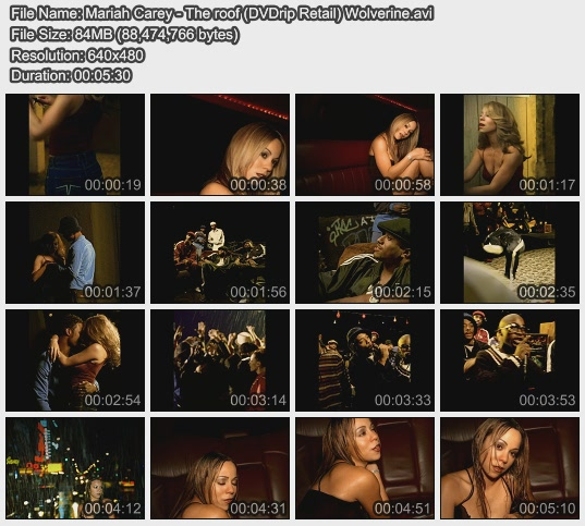 Mariah Carey - The roof (DVDrip Retail) Wolverine