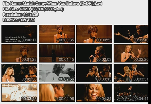 Mariah Carey-When You Believe (DvDRip)