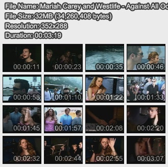 Mariah Carey and Westlife - Against All Odds (DVDrip Retail) Wolverine