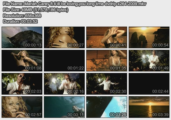 Mariah Carey ft ti ill be loving you long time-dvdrip-x264-2009