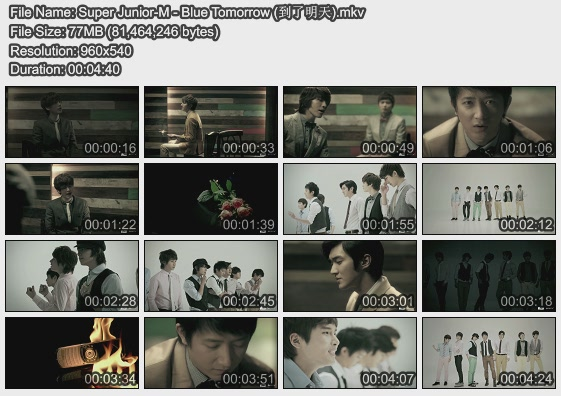 Super Junior-M - Blue Tomorrow