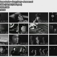 【MV】Super Junior - Sorry,Sorry - Answer[韩国]